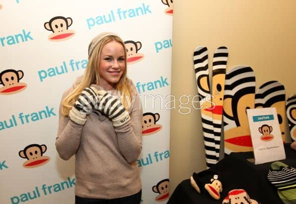 Emmy Winner Actress from General Hospital - Julie Berman seen here at Paul Frank booth in a Gifting Suite during The Sundance Film Festival 2012