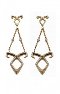 The Mortal Instruments - City Of Bones - Angelic Power Earrings as worn by Lily at Comic Con 2013