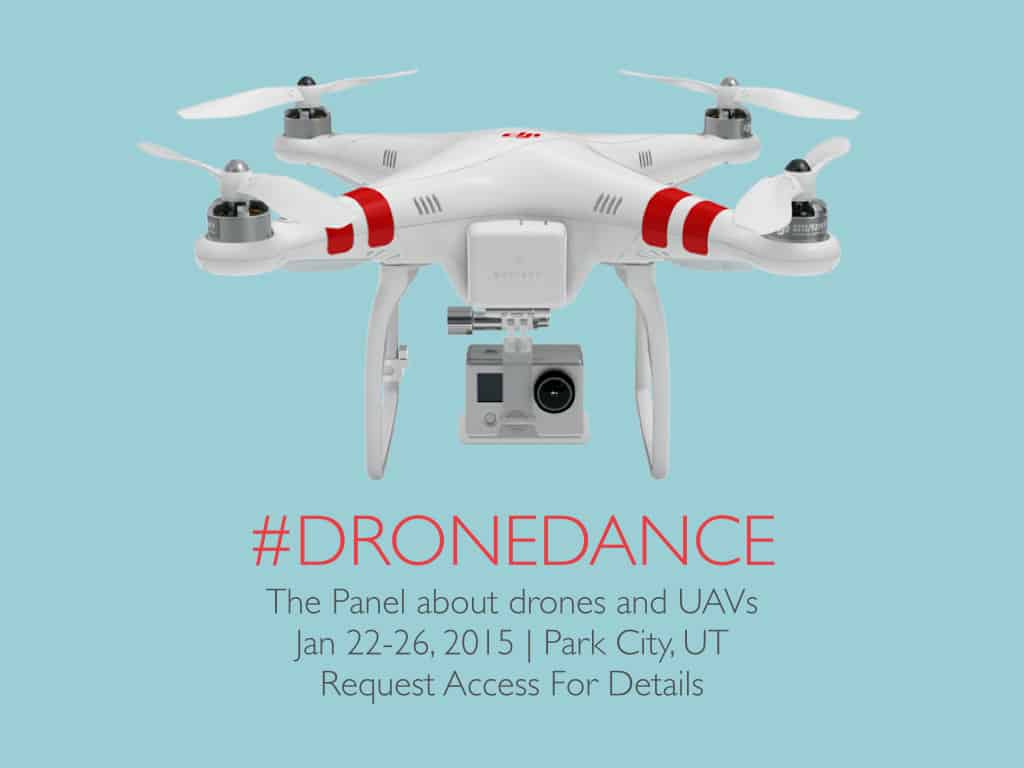 The Panel about drones and unmanned aerial vehicles during Sundance Film Festival 2015