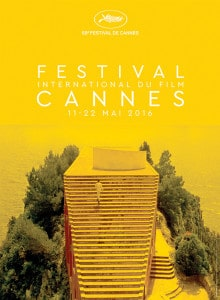 Cannes Film Festival 2016 Official Poster
