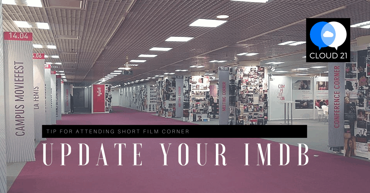 Cannes Short Film Corner Tips 2