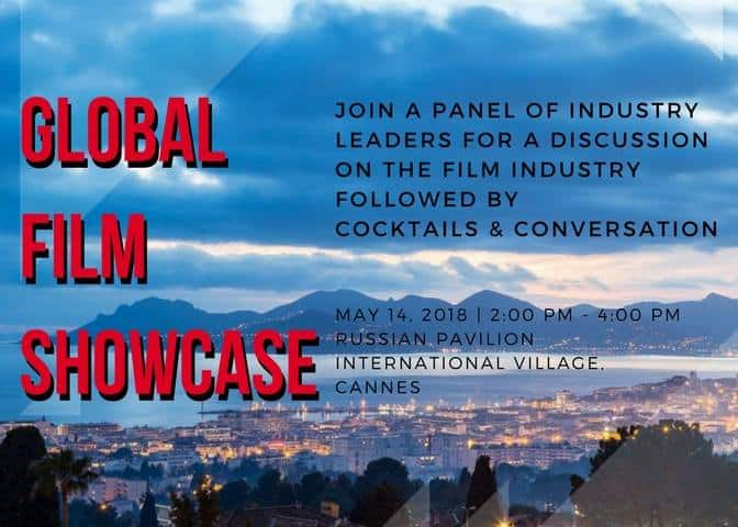 "ROSKINO, Cloud 21 International and Kultura PR International To Present ""Global Film Showcase"" during Cannes Film Festival 2"