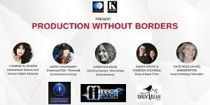 Cloud 21 & Kultura PR To Present Third Annual PRODUCTION WITHOUT BORDERS Online Event 1