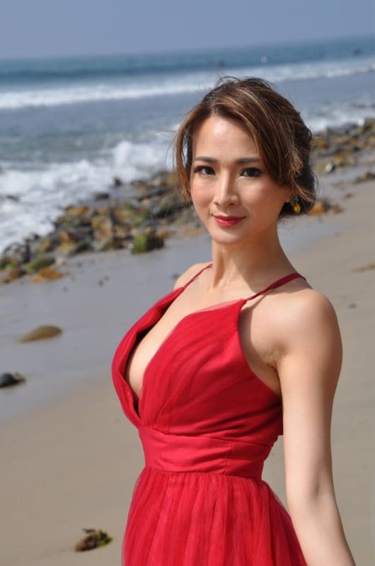 "Actress/Producer Amy Shi's ""Vampire's Tale"" 3"