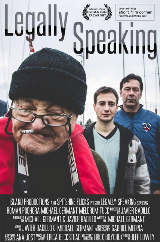 'Legally Speaking' Written by Actor Michael Germant and Directed by Filmmaker Javier Badillo To Debut At Cannes 2017 1