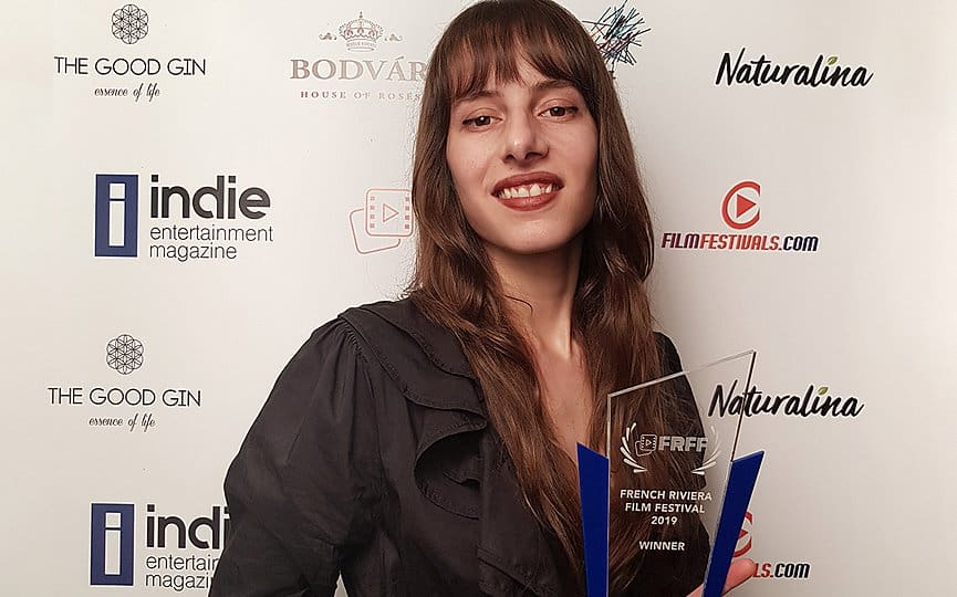 Olivia Hadjiioannou Wins Best Music Video Award at Festival in Cannes 1